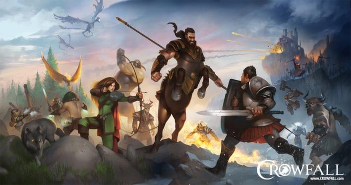 Crowfall - увлекательная MMORPG, предлагающая побороться за трон -