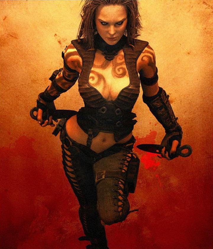 Лучшие девушки из игр - Кеайра - девушка в онлайн игре Age of Conan