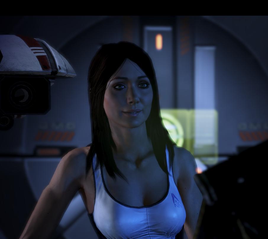 Лучшие девушки из игр - Диана - очаровательная журналистка из Mass Effect 3