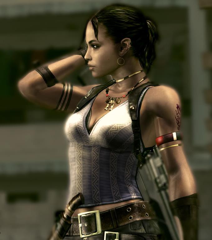 Лучшие девушки из игр - Шева Аломар - спутница главного героя Resident Evil 5