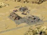 Островок жизни в пустыне