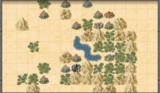 Поселения на карте