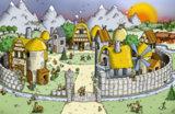 Мультяшная деревня