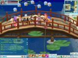 Посиделки на мосту