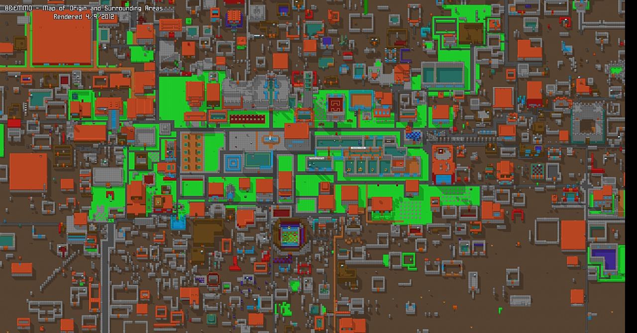 8BitMMO Глобальная карта