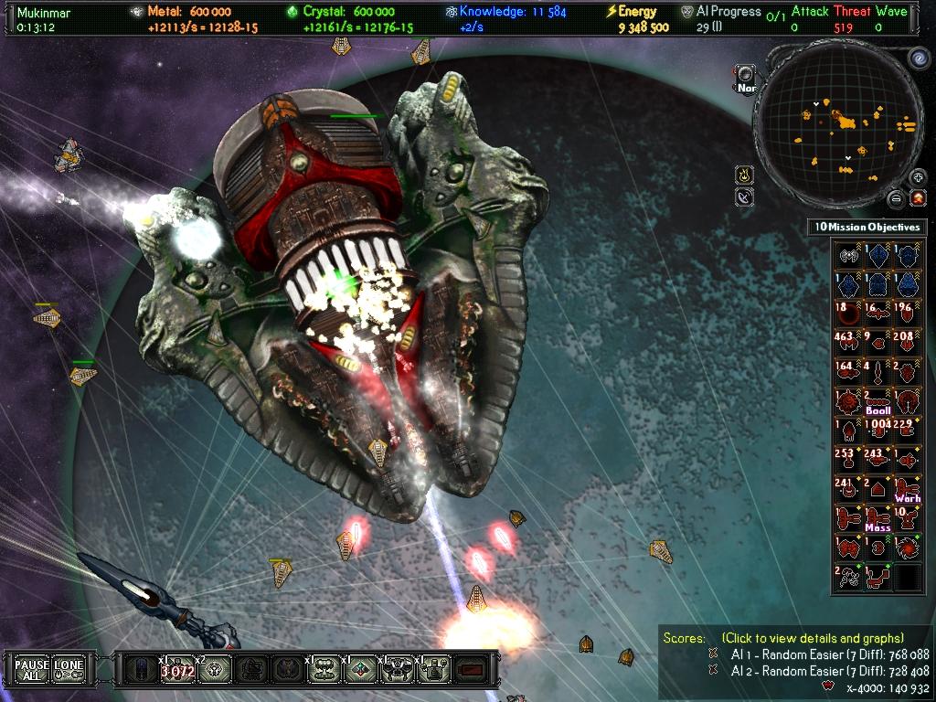 A.I.WAR Корабль-база