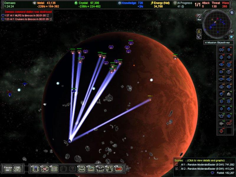 A.I.WAR Границы планеты