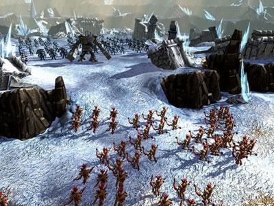 BattleForge По заснеженным территориям