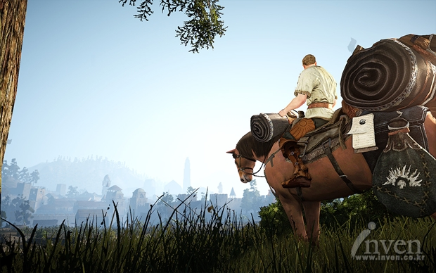 Black Desert В пути на лошади