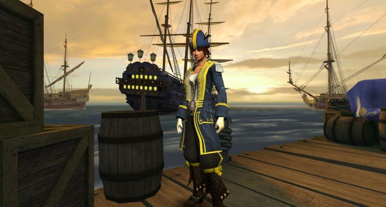 Pirates of the Burning Sea Пристань