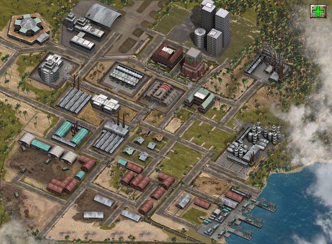 Desert Operations Зона промышленности