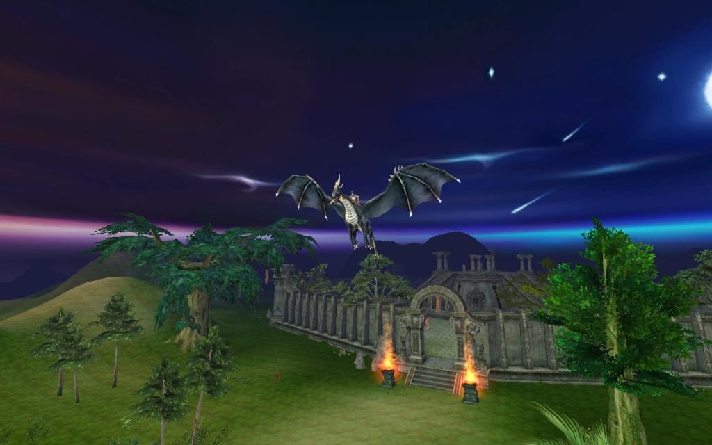 Повелители Драконов Черный дракон над городом