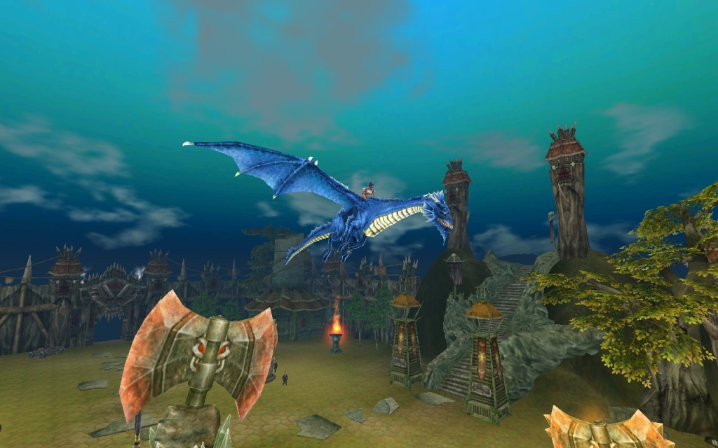 Повелители Драконов Синий дракон
