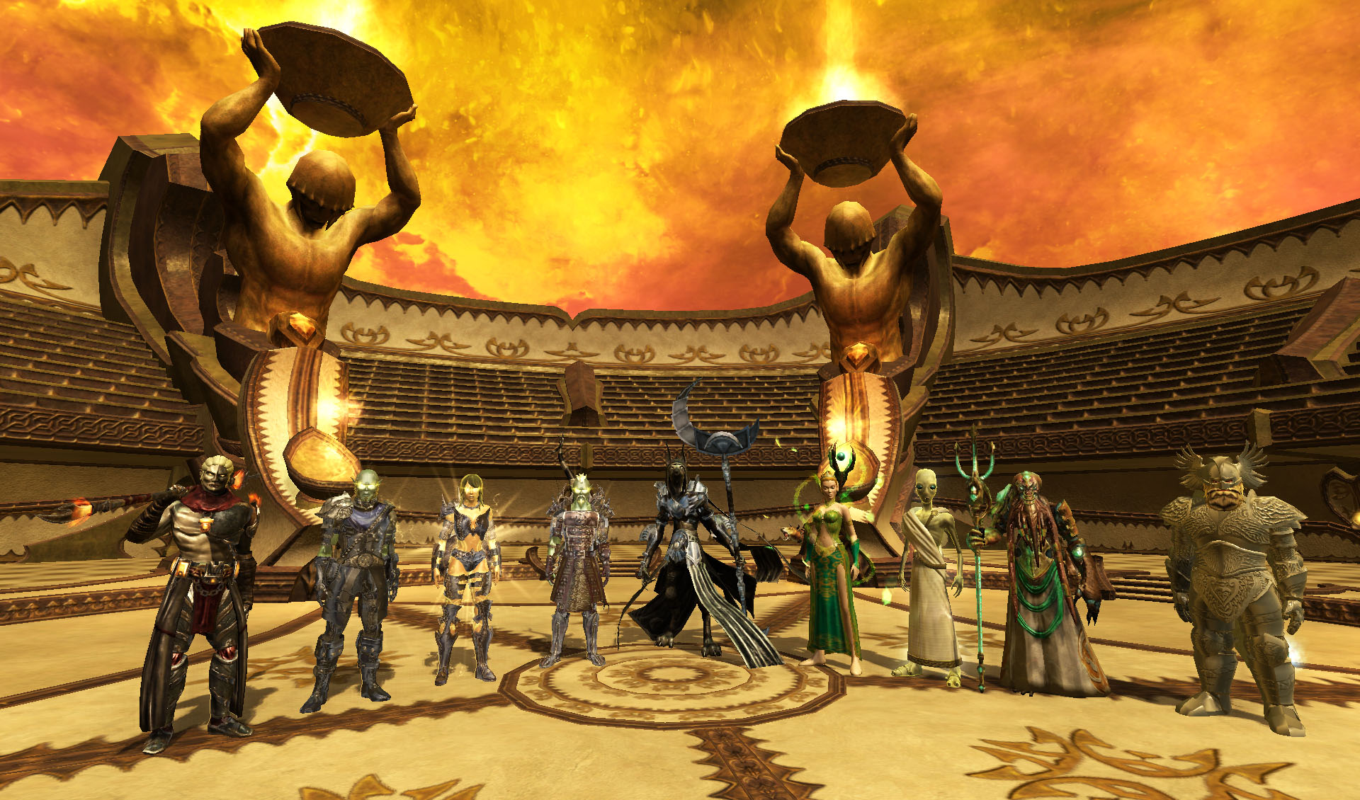 Everquest II: Destiny of Velious На арене