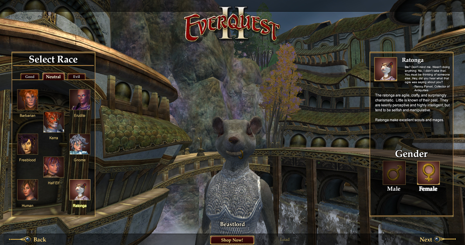 Everquest II: Destiny of Velious Бистлорд