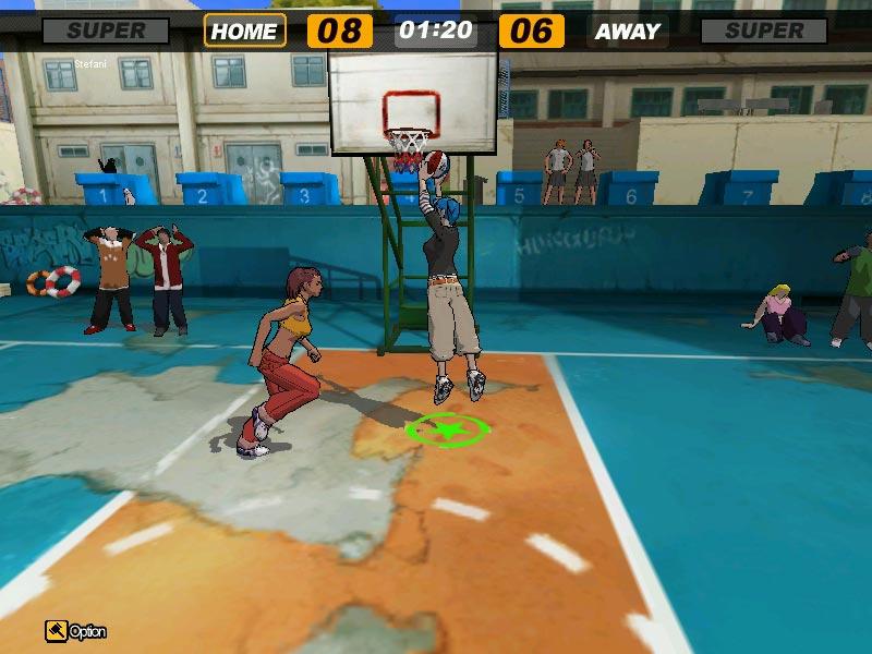 FreeStyle: Street Basketball Прыжок к корзине