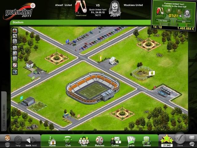 Goal United Стадион