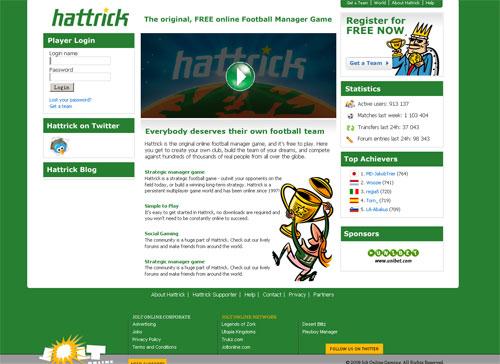 Hattrick Начало