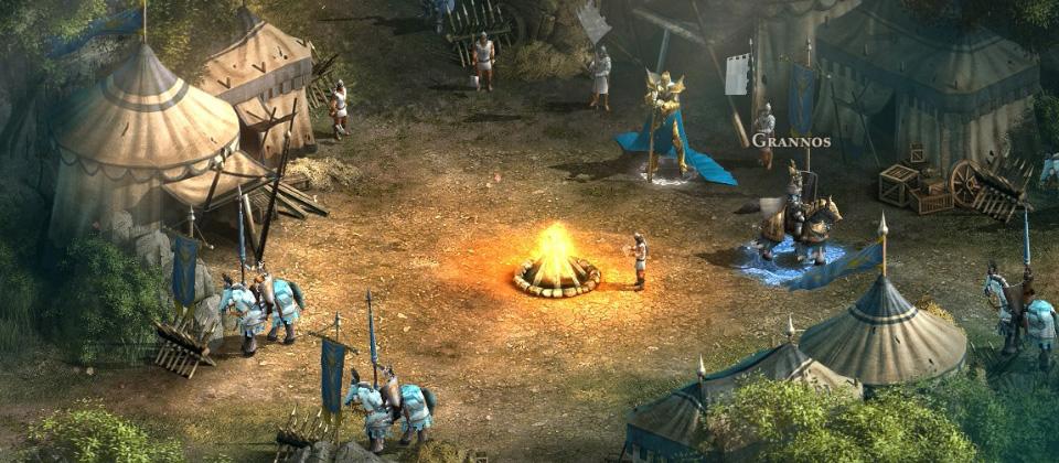 Меч и Магия: Герои Онлайн В защищенном лагере
