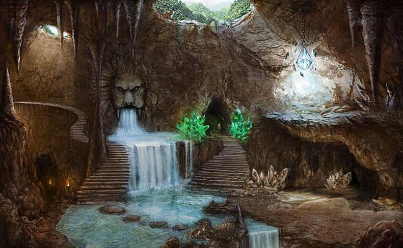Hoppenia Пещера