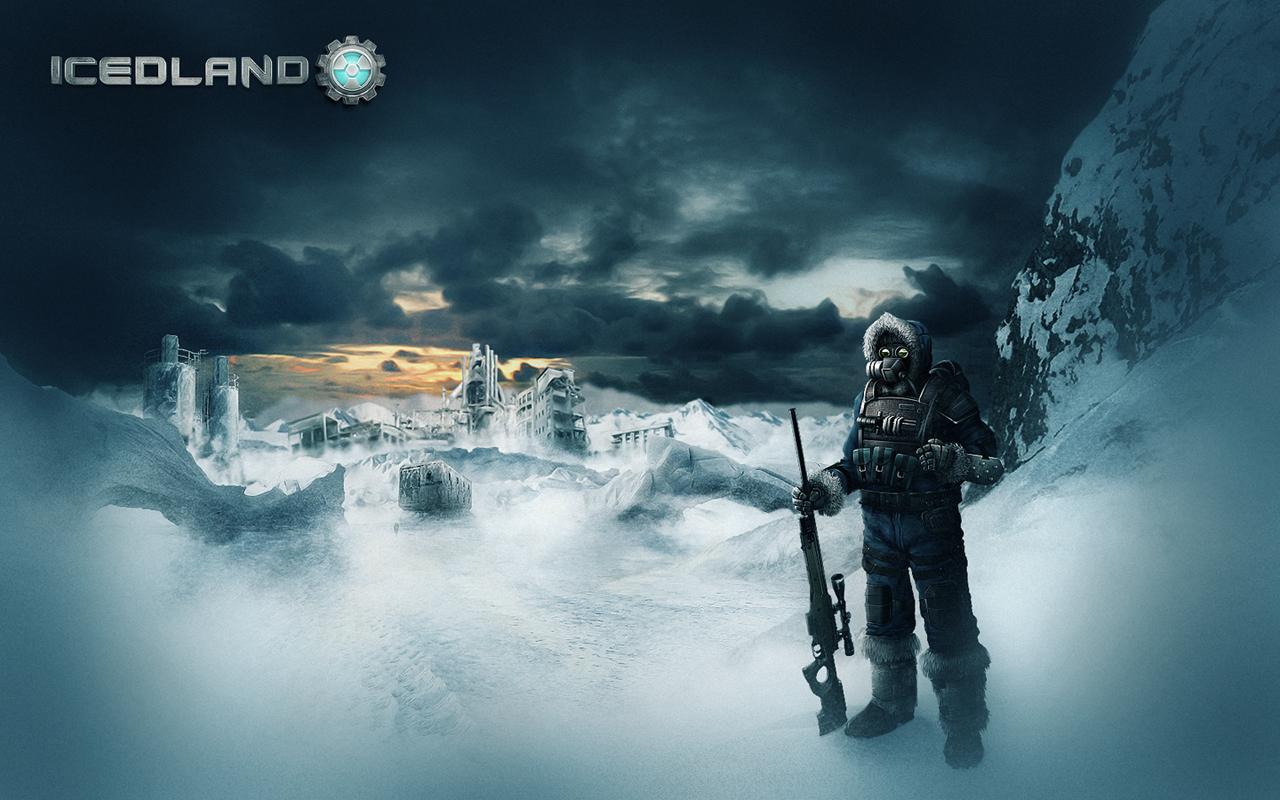 IcedLand Заставка