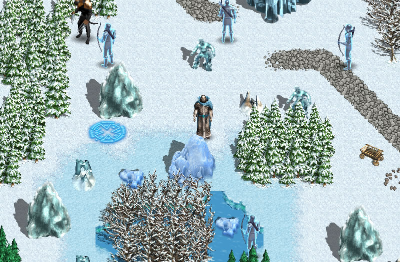Светящийся мир Ледяные пустоши
