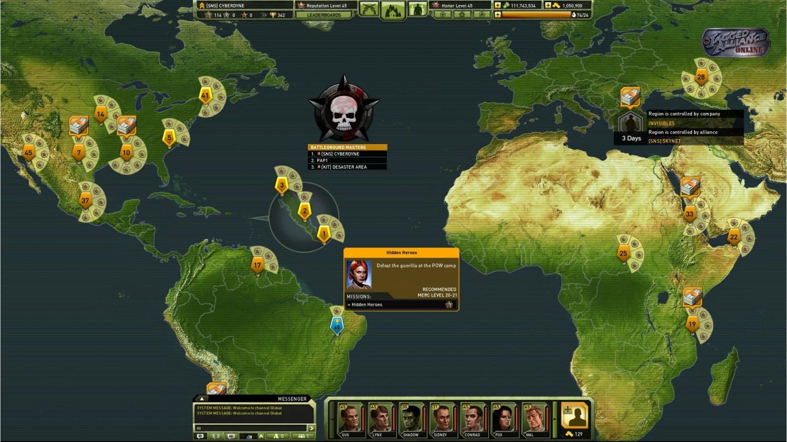 Jagged Alliance Перемещение по миру