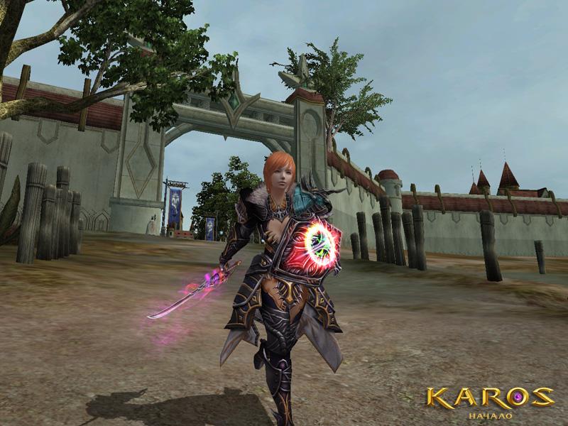 Karos: Начало Весьма симпатичный танк