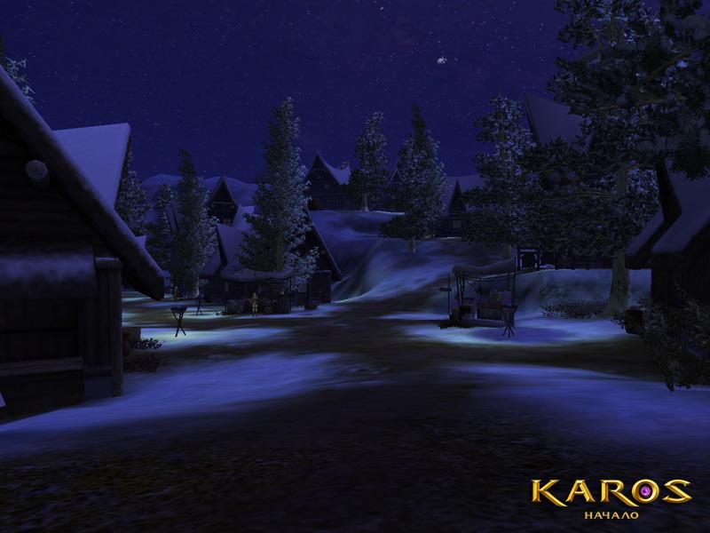 Karos: Начало Ночной вид