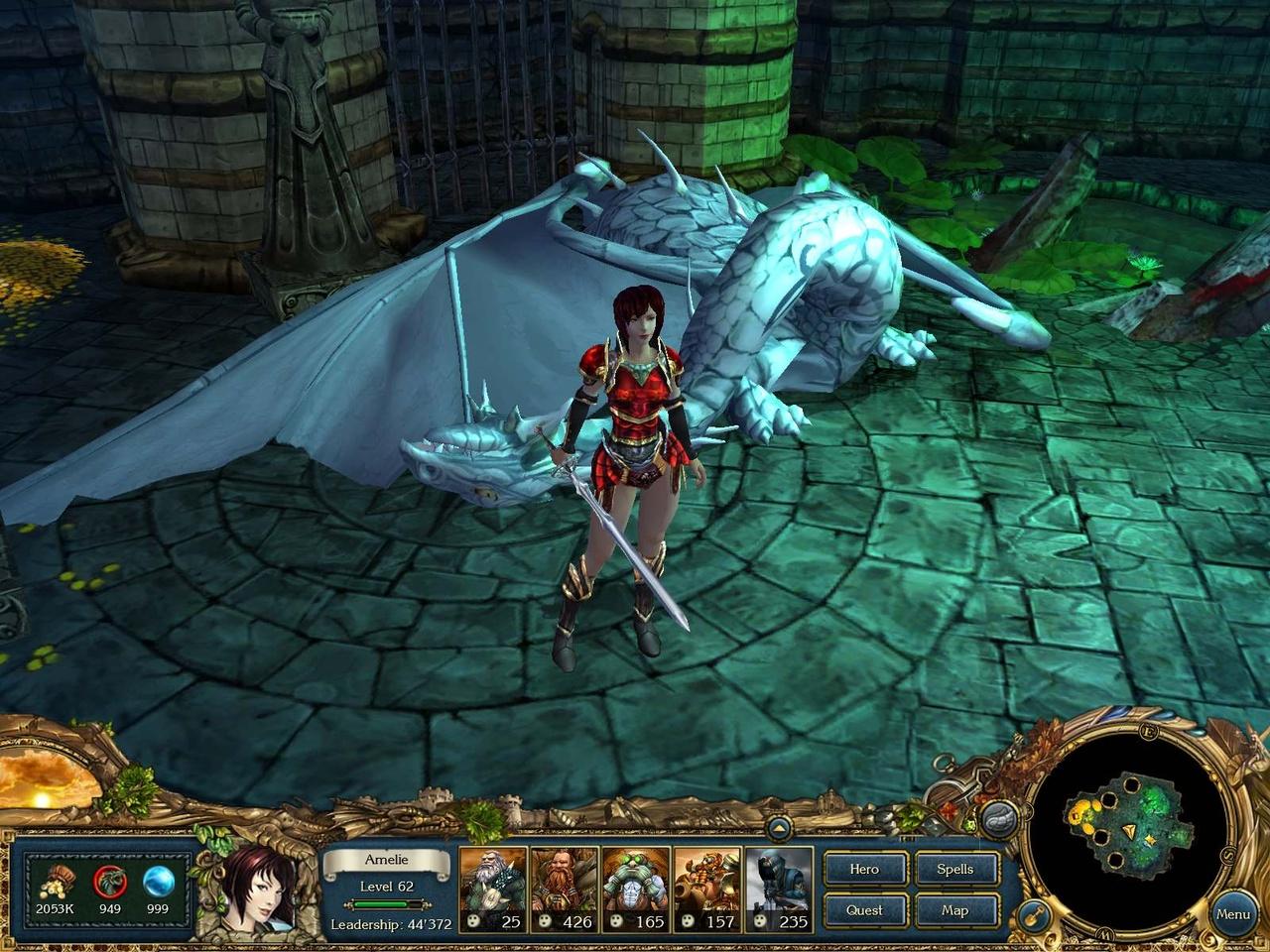 King's Bounty: Принцесса в доспехах Поверженный дракон