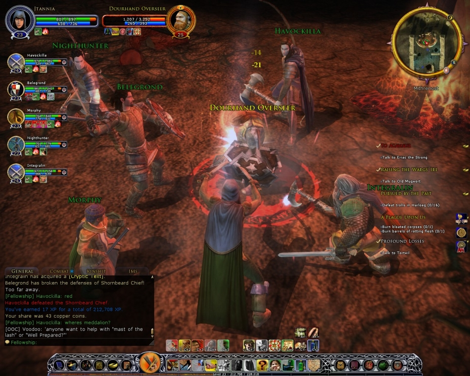 The Lord of the Rings Online: Riders of Rohan Толпой и орка легче бить