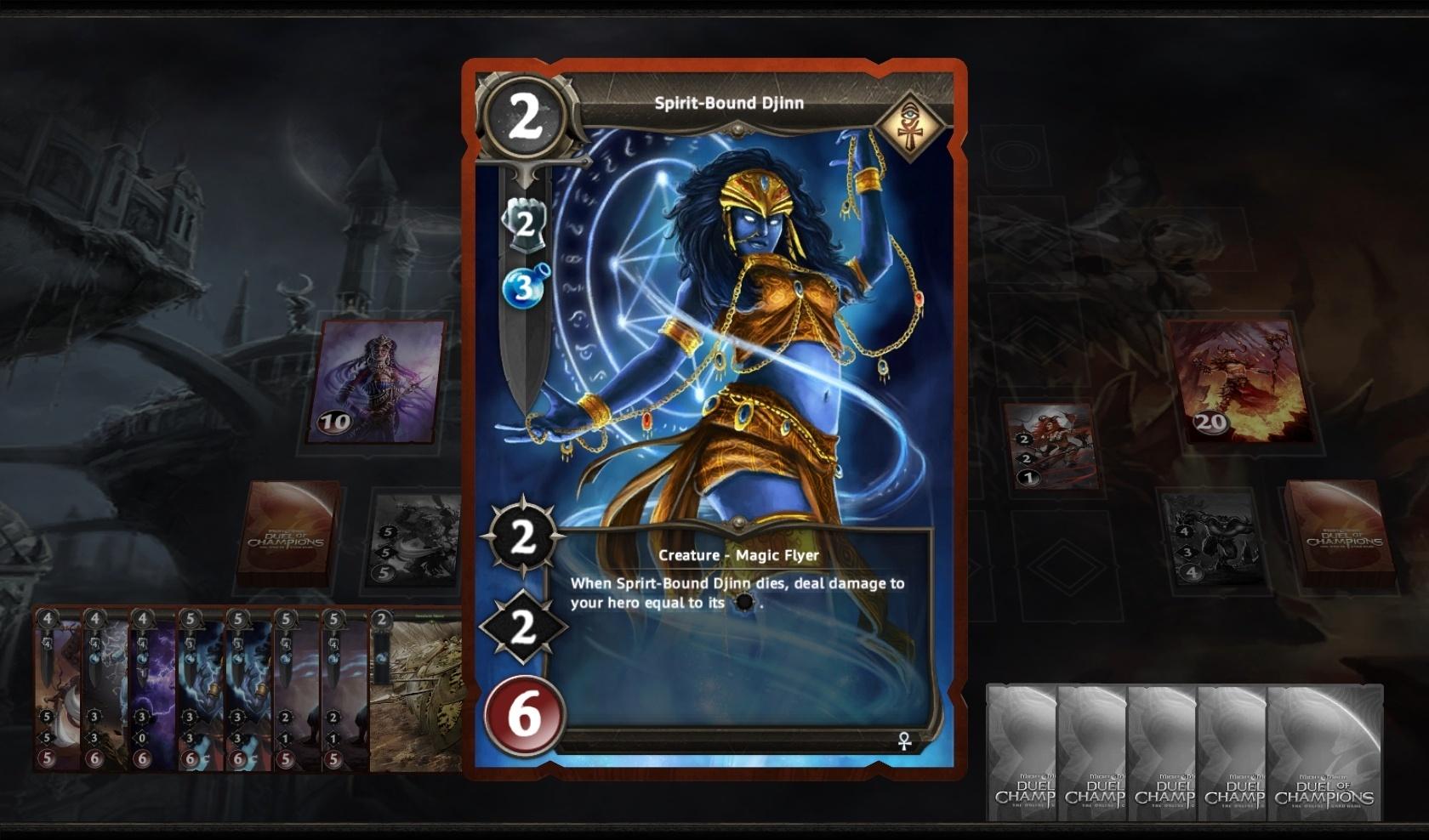 Might & Magic: Duel of Champions Джинн