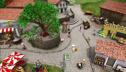 Моя Деревня В городе