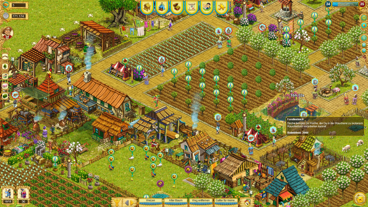 My Little Farmies Обработанный участок