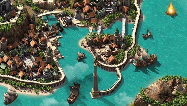 Piratestorm Город