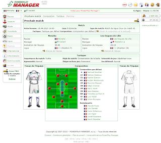 PowerPlay Manager Выбор игроков