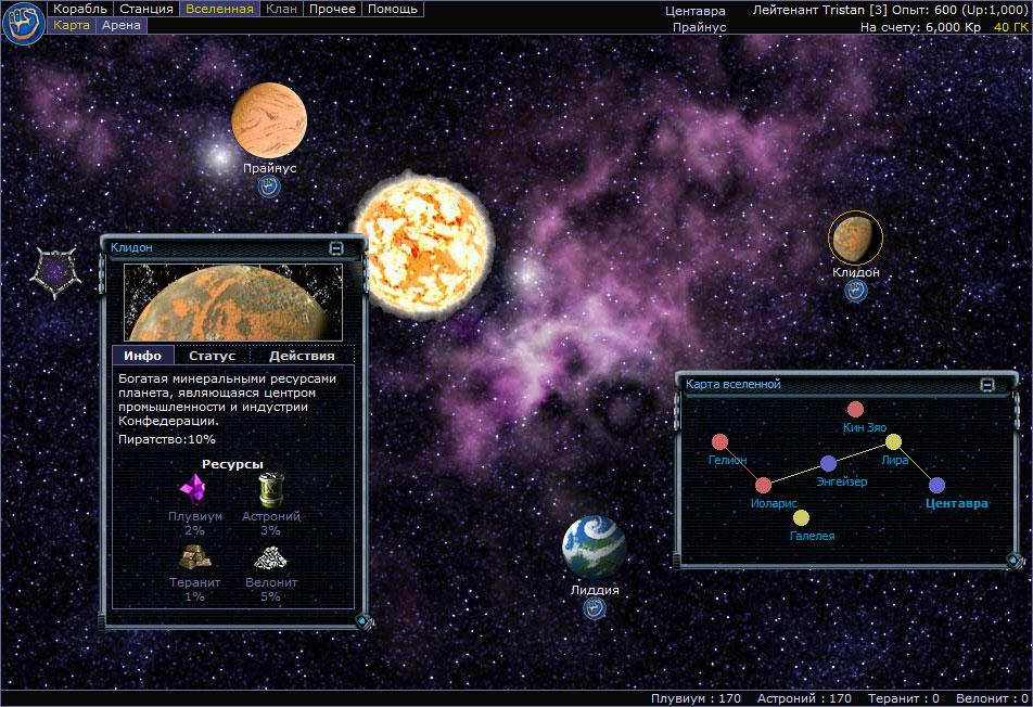 RavenSteel Вселенная