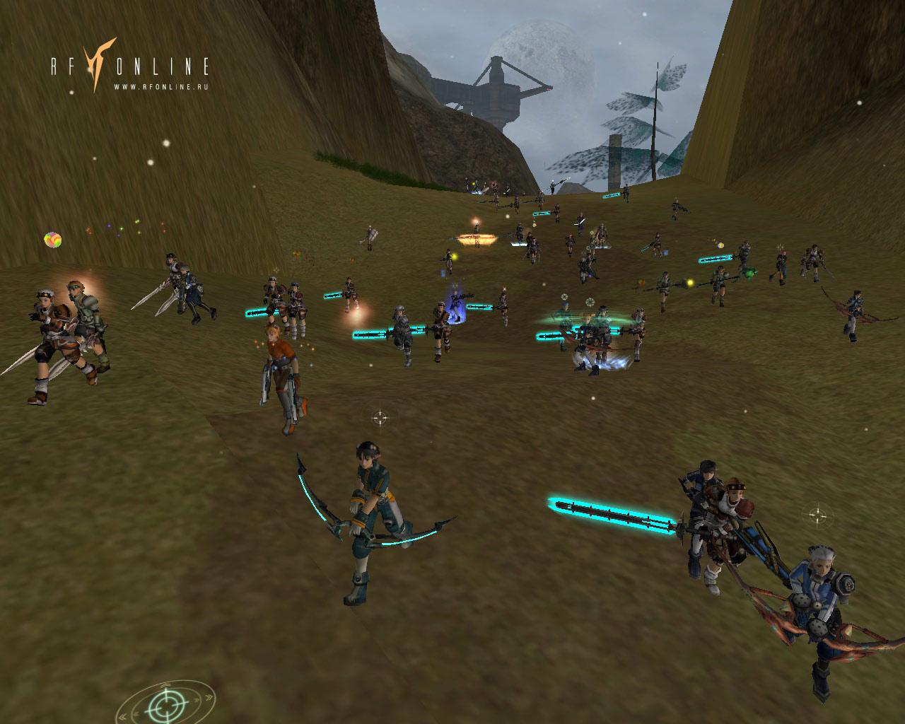 RF Online Толпа воинов
