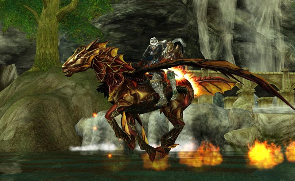 Runes of Magic Ездовая лошадь