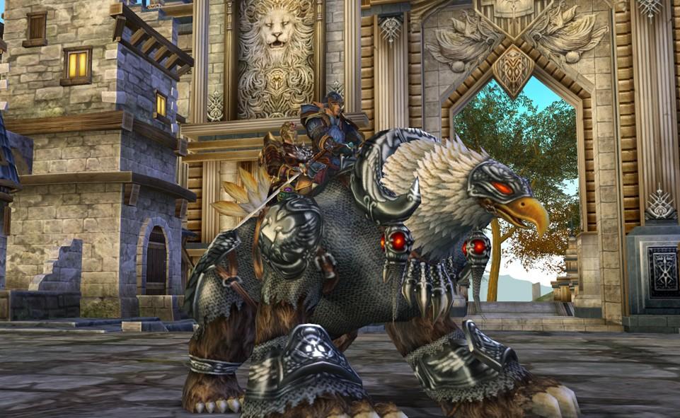 Runes of Magic Парная езда