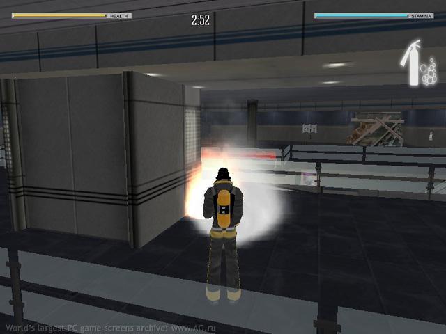 Власть огня Возле лестницы