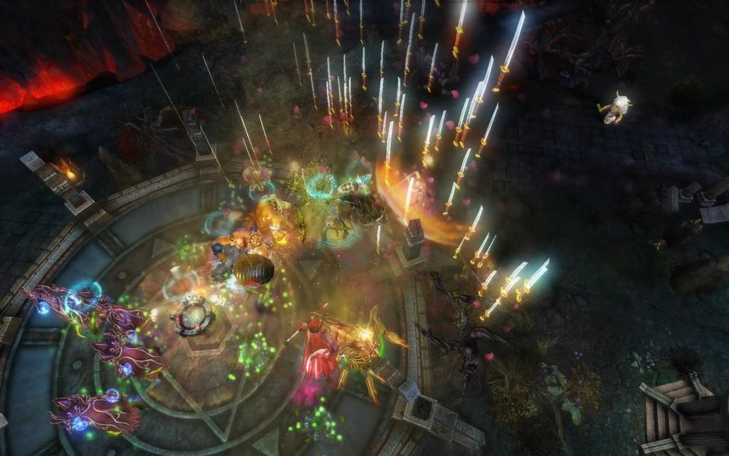 Rage of Titans Начало ритуала