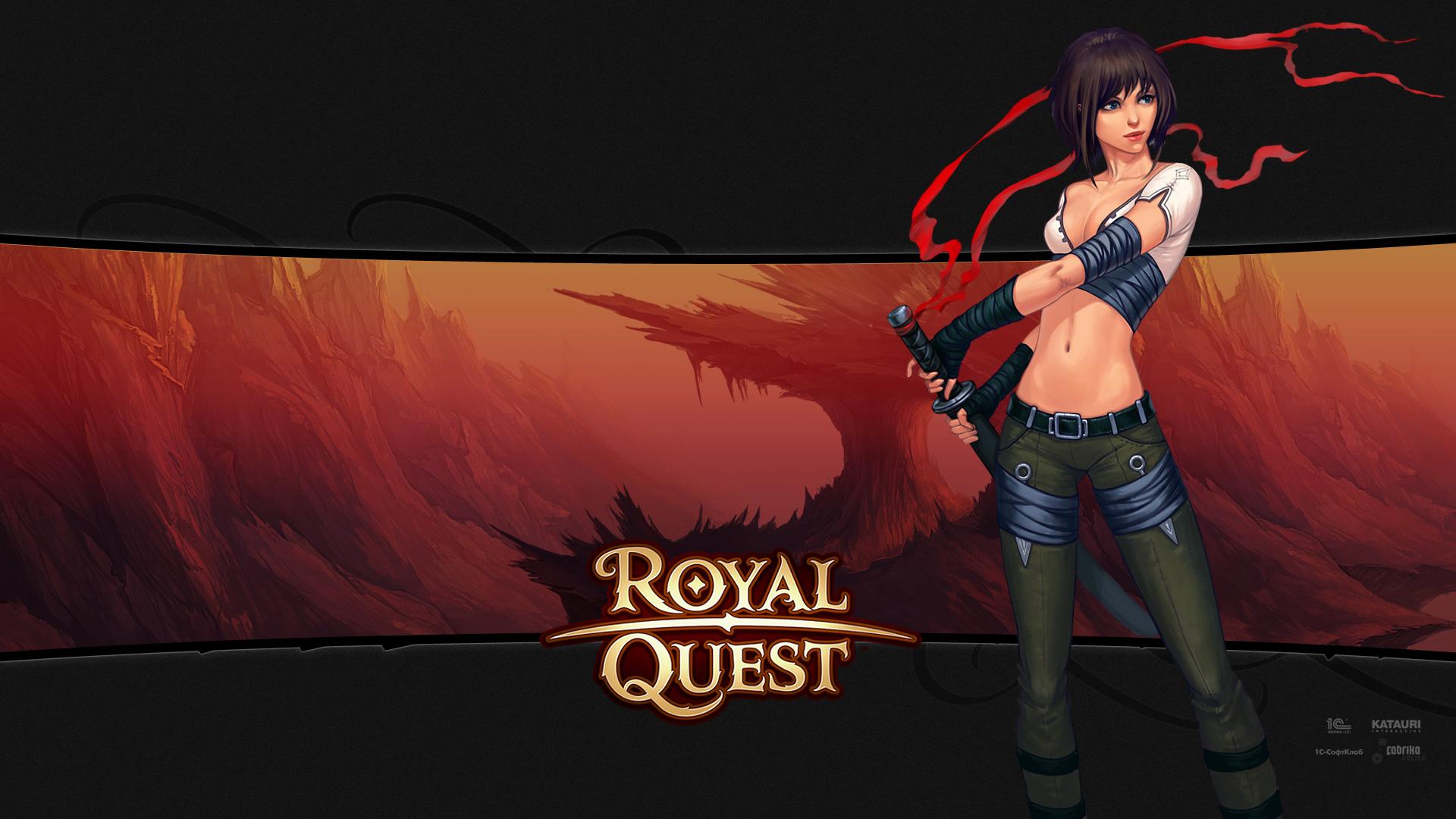 Royal Quest Воительница