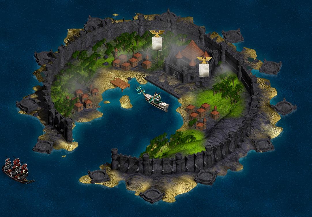 Seafight защищенная крепость
