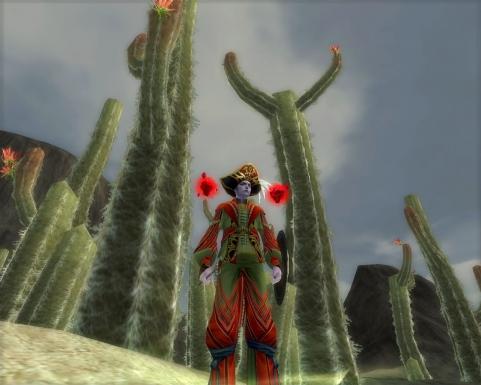Silkroad Огромные кактусы