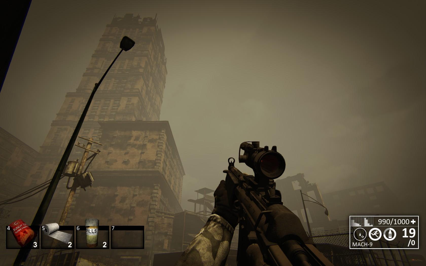 Stalker Online Опустевший небоскреб