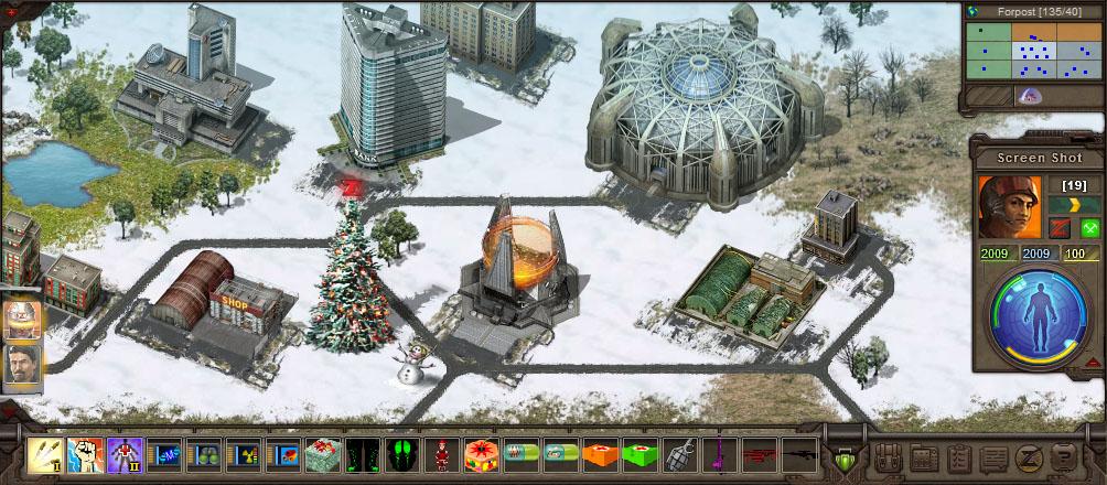 TimeZero новогодний город