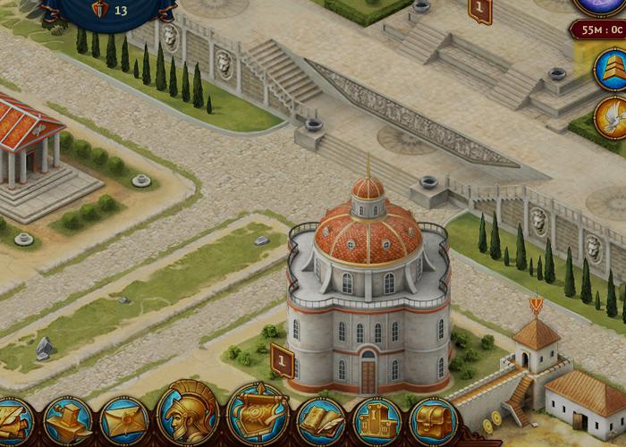 Триумф: Рождение Империй Игровой процесс