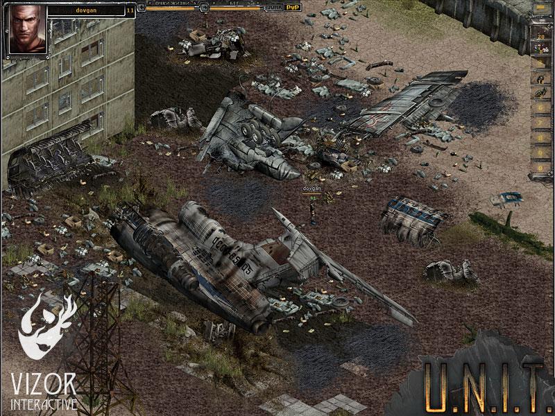 U.N.I.T. Развалины