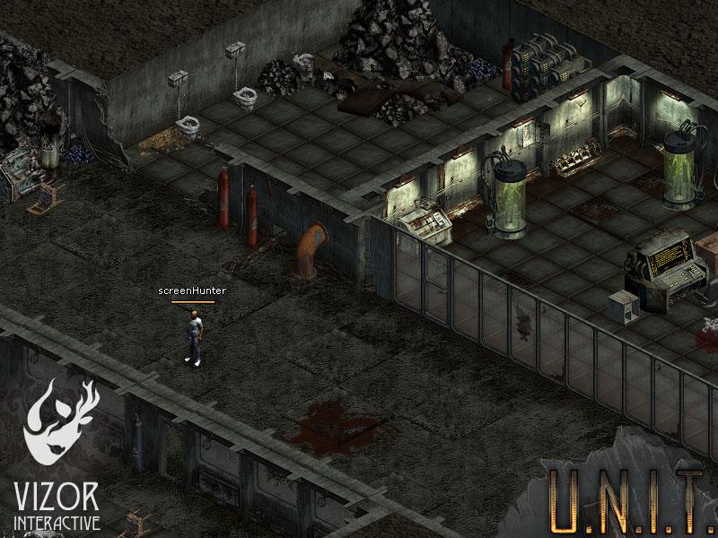 U.N.I.T. Разрушенная база